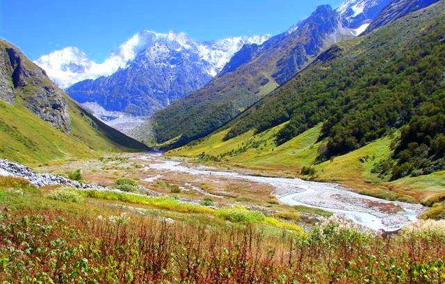 valley of flowers with hemkund sahib trek